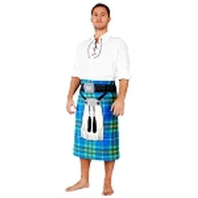 Click to get Kilt Bath Towel  Blue