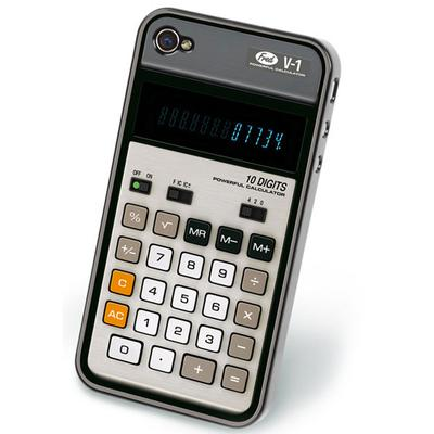 Click to get Retro Calculator IPhone 4 Cover
