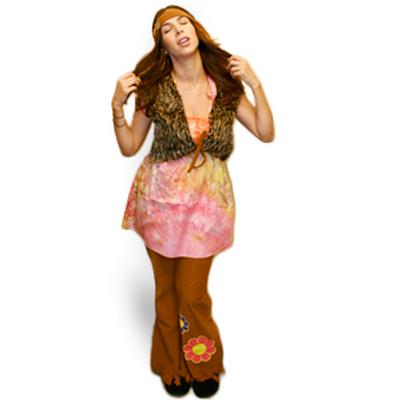 Click to get Hippie Girl Costume