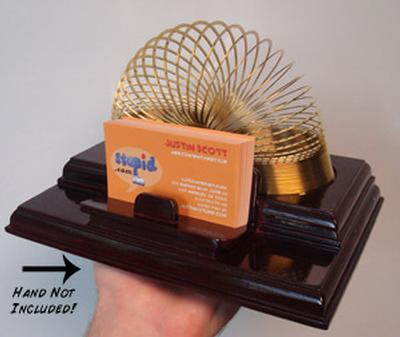 Click to get Slinky Card Caddy