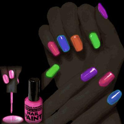 Click to get Blacklight Nail Polish