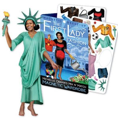 Click to get Michelle Obama Magnetic Dress Up Kit