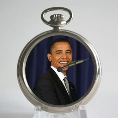 Click to get Barack Obama Pocket Watch