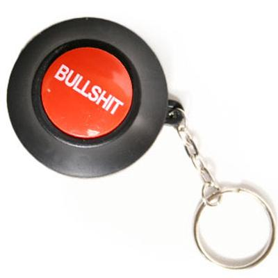 Click to get Bullshit Button Keychain