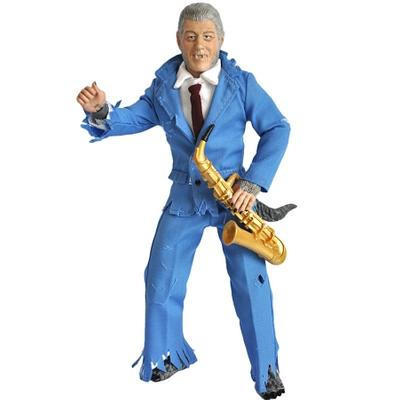 Click to get Presidential Monsters Action Figure Wolfman Bill Clinton
