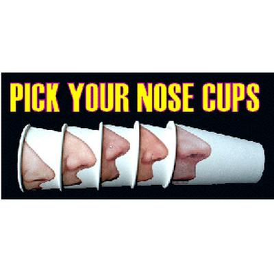 Click to get Pick Your Nose Cups