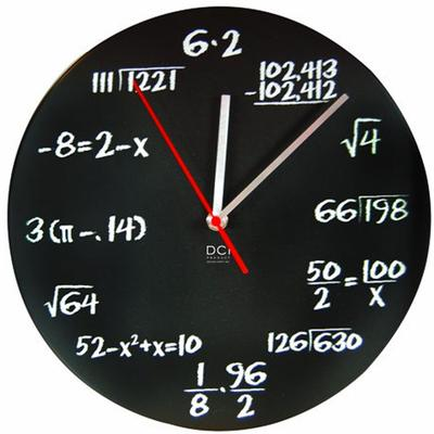 Click to get Math Equation Clock