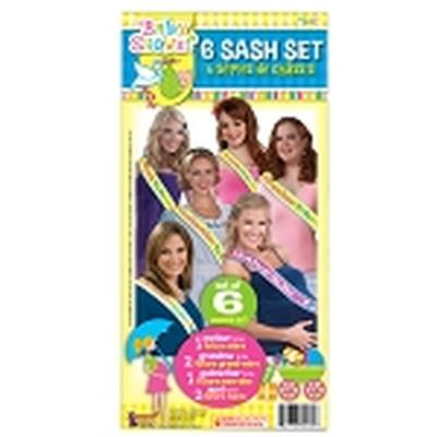 Click to get Baby Shower Sash Set 6 Pieces