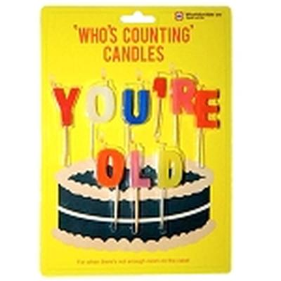Click to get Youre Old Whos Counting Candles