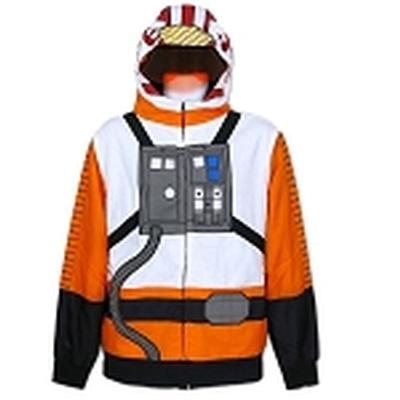 Click to get Rebel Pilot Costume Hoodie Large