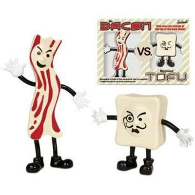 Click to get Mr Bacon Vs Monsieur Tofu