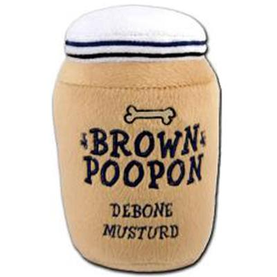 Click to get Brown Poopon Musturd Toy