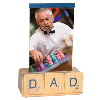 Click to get Dads Scrabble Picture Frame