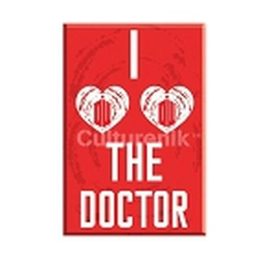 Click to get Doctor Who I Heart the Doctor Car Magnet