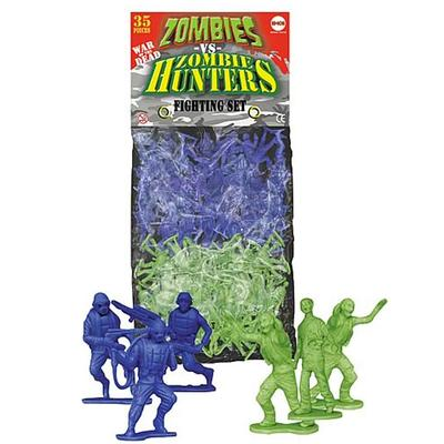 Click to get Zombies vs Zombie Hunters Play Set