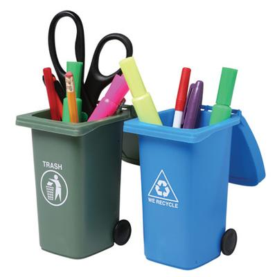 Click to get Mini Trash and Recycle Can Set