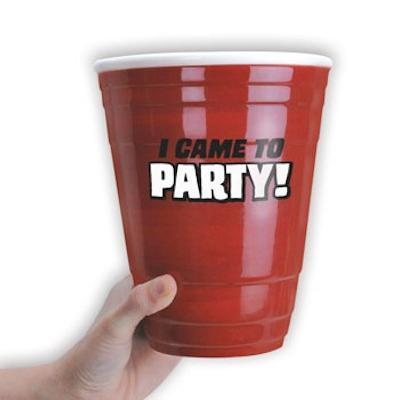Click to get Gigantic Red Party Cup