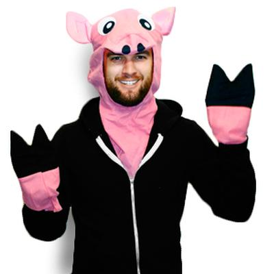Click to get Plush Pig Costume Kit