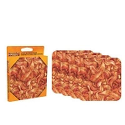 Click to get Bacon 4 piece Coaster Set