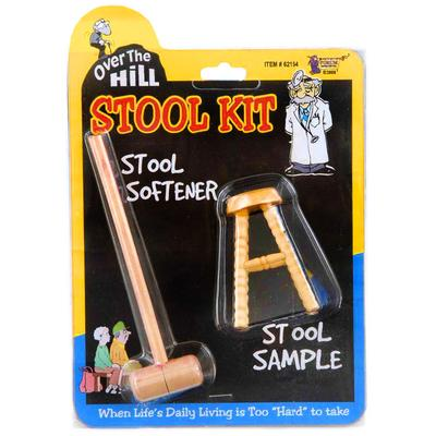 Click to get Over the Hill Stool Sample and Stool Softener