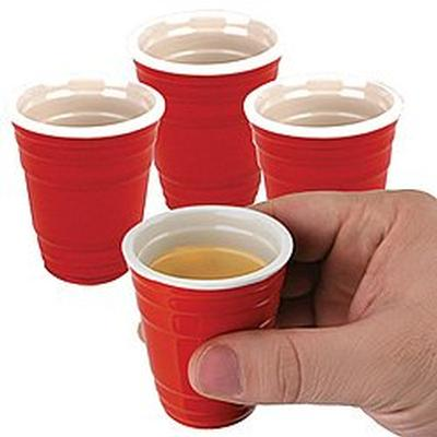 Click to get Red Cup Shot Glasses