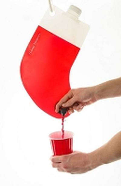 Click to get Santas Flask Drink Dispenser