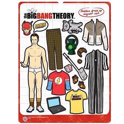 Click to get Big Bang Theory Sheldon Magnetic Dress Up Kit
