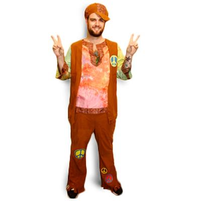 Click to get Hippie Guy Costume