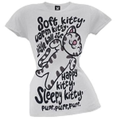 Click to get Big Bang Theory Soft Kitty TShirt Junior