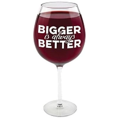 Click to get Gigantic Wine Glasses Bigger is Better