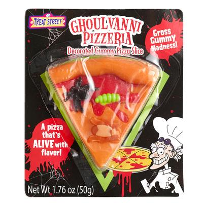 Click to get Gross Gummy Halloween Pizza Slice