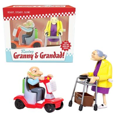 Click to get Racing Granny and Grandad WindUp Toys