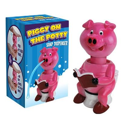 Click to get Pig On The Potty Soap Dispenser
