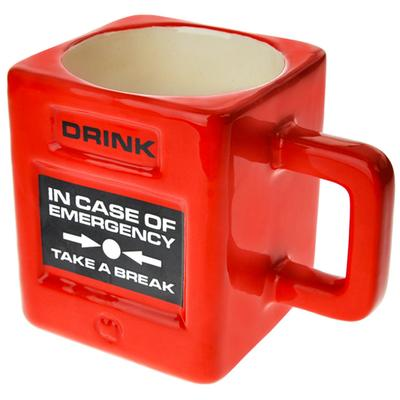 Click to get Take a Break Mug Fire Alarm Mug