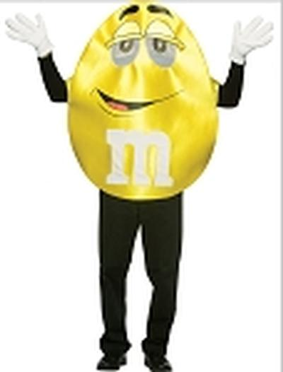 Click to get Yellow MM Costume    Adult