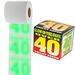 Glow in the Dark Over 40 Toilet Paper